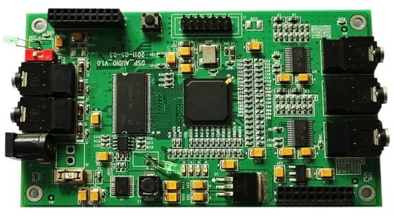 Espessura Multilayer do ouro 1.6mm da imersão da máscara da solda do verde do OEM/da placa PWB do ODM